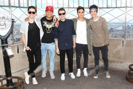 Eric Secharia, Anthony Ladao, Thomas Augusto, Colton Rudloff and Joey Diggs Jr - Midnight Red