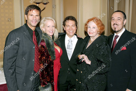 Editorial photo of OPENING NIGHT OF MICHAEL FEINSTEIN'S 'THE GREAT AMERICAN SONGBOOK' AT FEINSTEIN'S AT THE REGENCY, NEW YORK, AMERICA - 25 NOV 2003