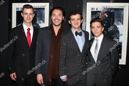 Brahm Vaccarella, Jack Huston, Will Brill and John Magaro