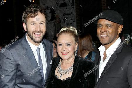 Chris O'Dowd, Laurel Robinson, Tony Briggs (Writer)