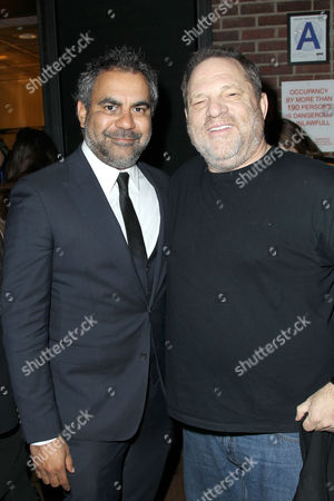 Stock Image of Wayne Blaire (Director), Harvey Weinstein
