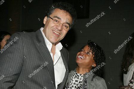 Stock Photo of Rodrigo Garcia and Shareeka Epps