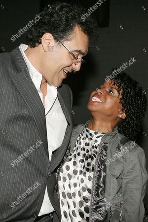 Stock Picture of Rodrigo Garcia and Shareeka Epps