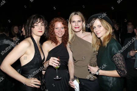 Stock Image of Amanda Pennington, Michelle, Stephanie March and Guest