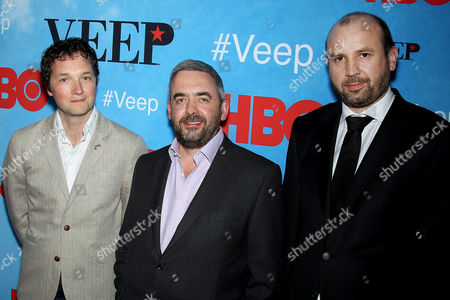 Chris Addison, Simon Blackwell, and Tony Roche (Producers)