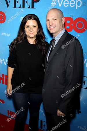 Stock Picture of Stephanie Laing, Christopher Godsick (Producers)
