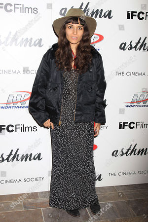 Editorial photo of Northwest 'Asthma' film screening at the Cinema Society, New York, America - 08 Oct 2015