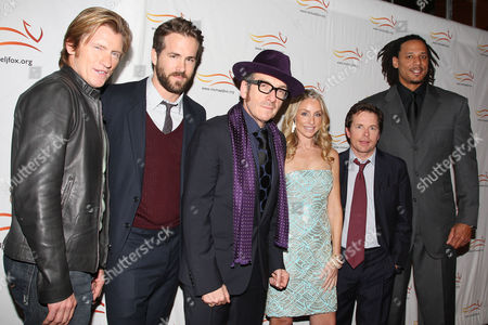 Denis Leary, Ryan Reynolds, Elvis Costello, Tracy Pollan, Michael J. Fox and Brian Grant
