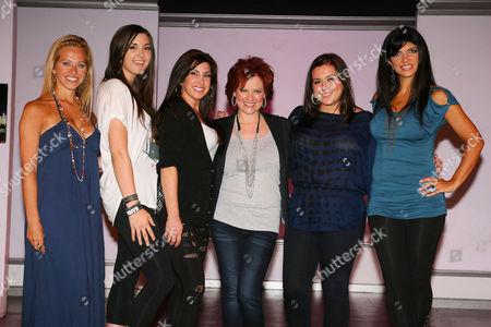 Dina Manzo, Ashley Holmes, Jacqueline Laurita, Caroline Manzo, Lauren Manzo and Teresa Giudice