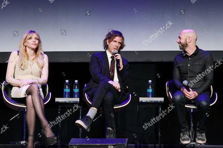 Courtney Love, Brett Morgen and Neil Strauss