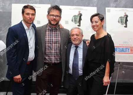 Editorial picture of 'Inequality for All' film premiere, New York, America - 25 Sep 2013
