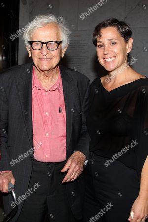 Stock Image of Albert Maysles and Jennifer Chaiken (Producer)
