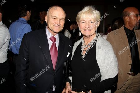 Commissioner Ray Kelly and wife Veronica Kelly