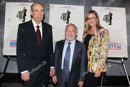 Mario Cuomo, Robert Reich and Maria Cuomo Cole