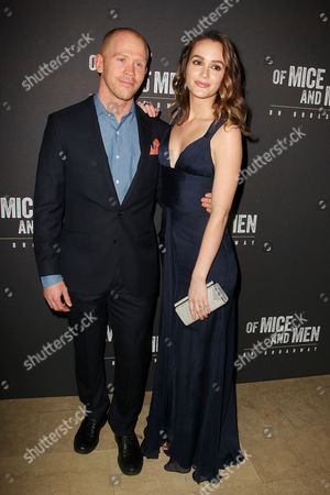 Editorial picture of 'Of Mice and Men' play opening night, New York, America - 16 Apr 2014