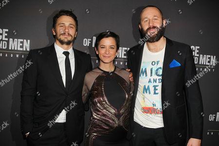 Chris O'Dowd, Anna D Shapiro (Director) and James Franco
