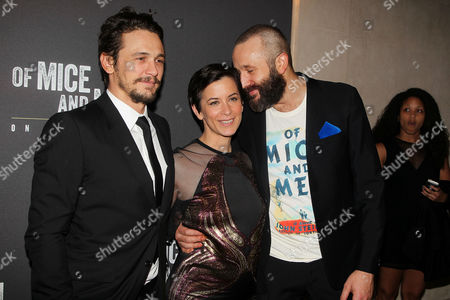 Editorial image of 'Of Mice and Men' play opening night, New York, America - 16 Apr 2014