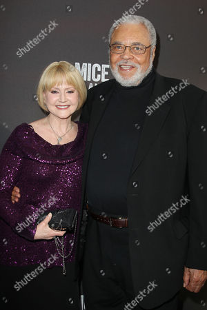 James Earl Jones and Cecilia Hart (wife)