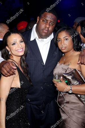 Antonique Smith, Jamal Woolard and wife Trina