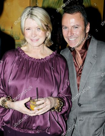 Martha Stewart and Colin Cowie