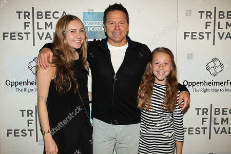 Stock Image of Billy Garber with children