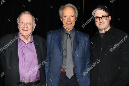 Richard Schickel, Clint Eastwood and Darren Aronofsky