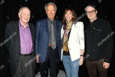 Stock Image of Richard Schickel, Clint Eastwood, Jane Rosenthal and Darren Aronofsky