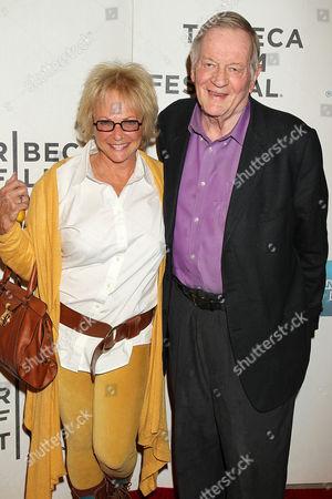 Ronnee Sass and Richard Schickel