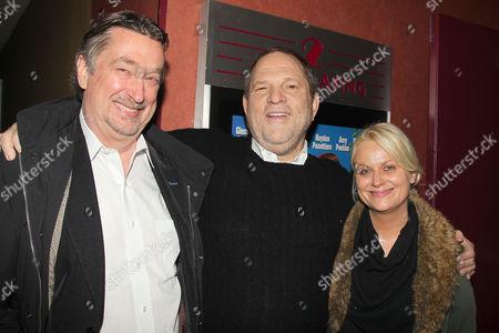 Geoffrey Gilmore, Harvey Weinstein and Amy Poehler