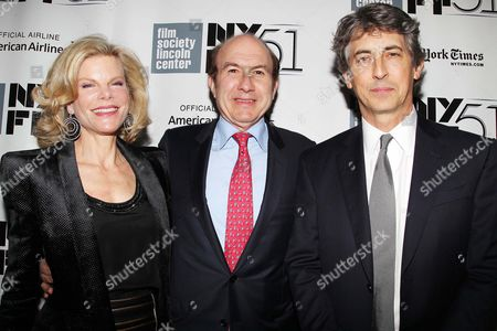 Deborah Dauman, Philippe Dauman and Alexander Payne