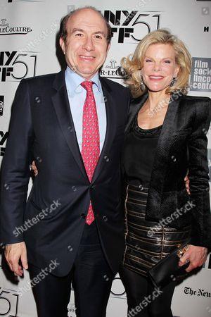 Philippe Dauman and Deborah Dauman