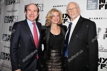 Philippe Dauman, Deborah Dauman and Bruce Dern