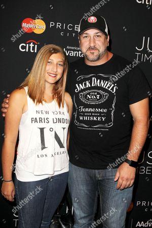 Briahna Fatone and Joey Fatone