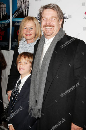 John Wells (Writer/Director) with wife Marilyn Wells and son Jack Wells