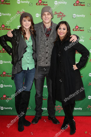 Shailene Woodley, Ken Baumann and Francia Raisa