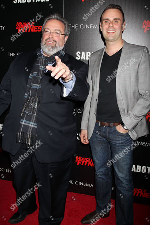 Editorial image of 'Sabotage' film screening at the Cinema Society, New York, America - 25 Mar 2014