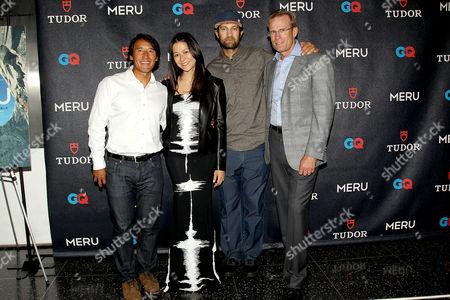 Editorial image of 'Meru' film premiere, New York, America - 03 Aug 2015