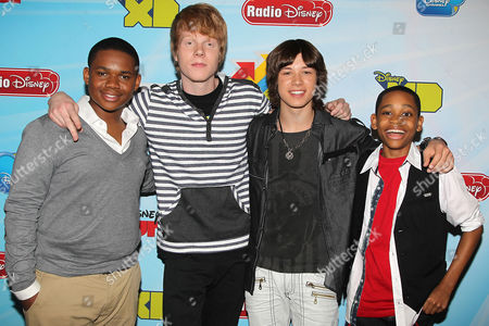Doc Shaw, Adam Hicks, Leo Howard, Tyrel Jackson Williams