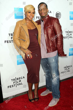 Mary J Blige and Kendu Isaacs
