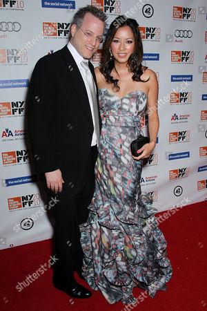 Ben Mezrich and wife Tonya Chen