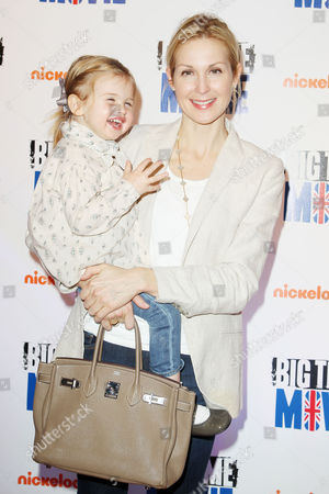 Stock Photo of Kelly Rutherford and daughter Helena Giersch