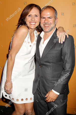 Molly Shannon and Jeremy Dawson