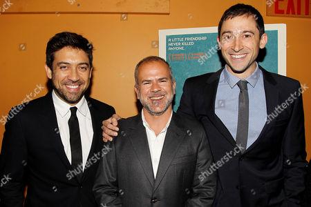 Alfonso Gomez-Rejon, Jeremy Dawson and Jesse Andrews