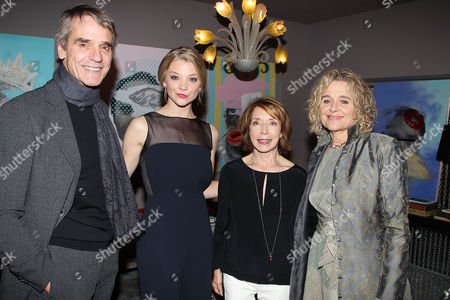 Jeremy Irons, Natalie Dormer, Paula Wallace and Sinead Cusack