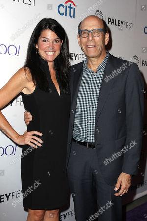 Maureen J. Reidy (Pres & CEO; Paley Center) and Matt Blank (Pres & CEO; Showtime)
