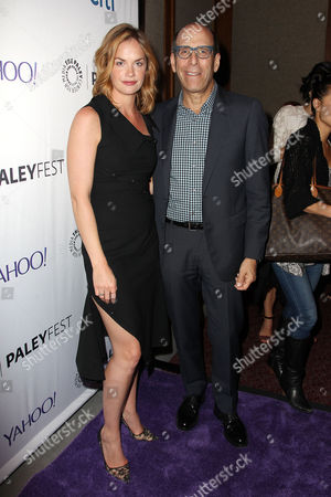 Ruth Wilson and Matt Blank (Pres and CEO; Showtime)