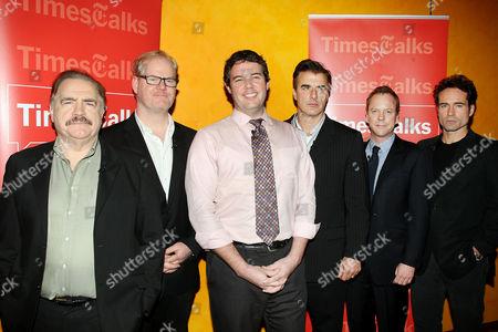 Brian Cox, Jim Gaffigan, Patrick Healy, Chris Noth, Kiefer Sutherland and Jason Patric