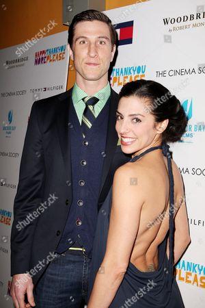Pablo Schreiber and Jessica Monty