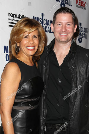Stock Picture of Hoda Kotb and Pete Griffin