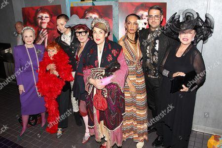 Editorial image of 'Advanced Style' film screening, New York, America - 26 Sep 2014